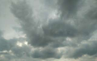 Cielo nublado