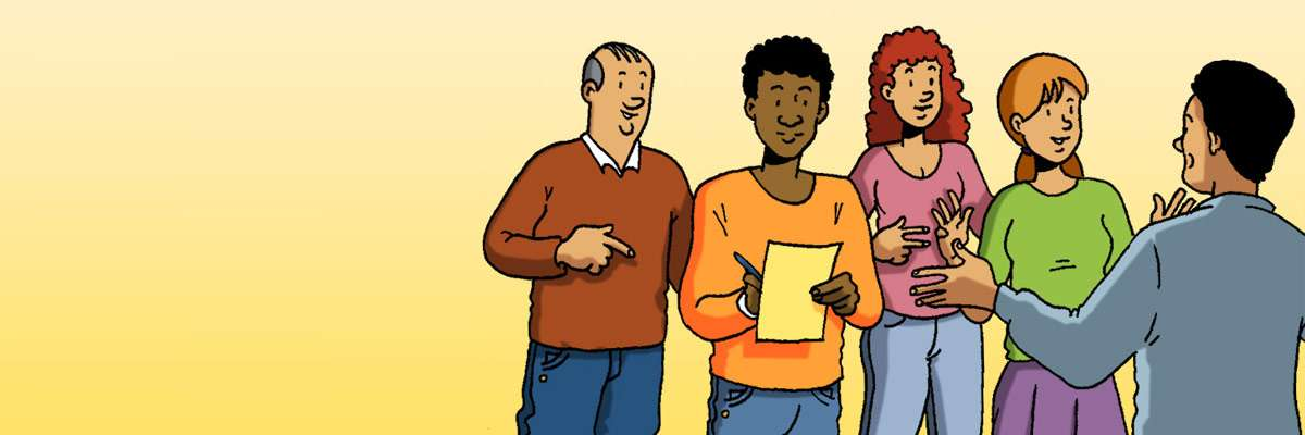 Il·lustració xerrades escoles